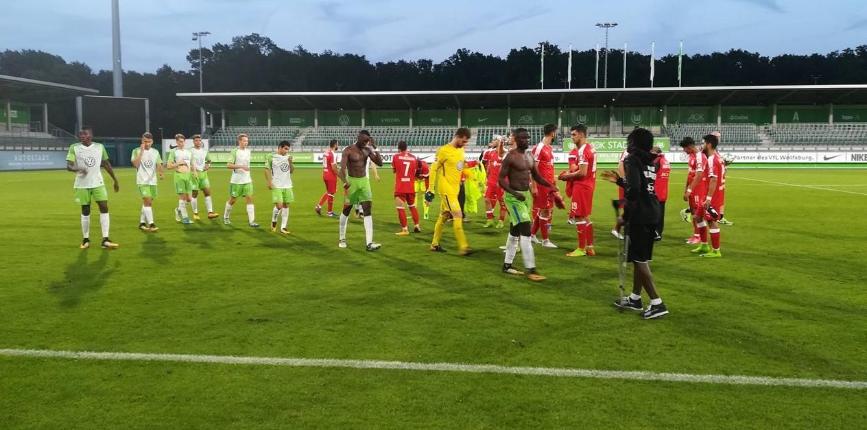 0:6 gegen Bundesliga-Elf