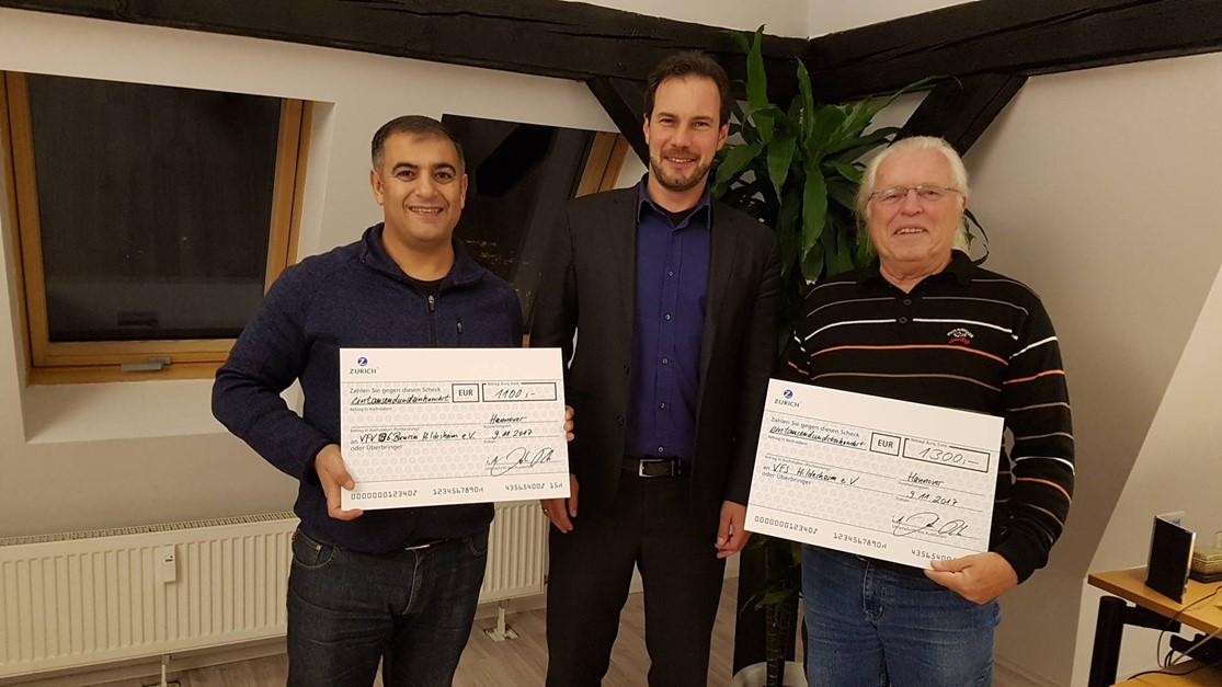 Mit Zurich Versicherung über 1.100 EURO für Jugend
