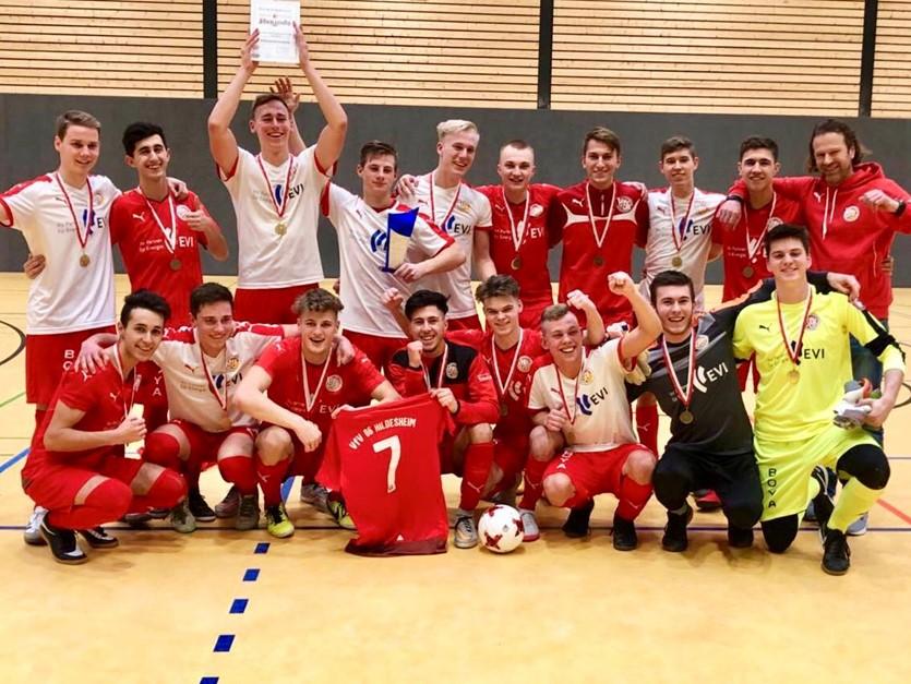 Klasse: U 19 wird Futsal-Landesmeister