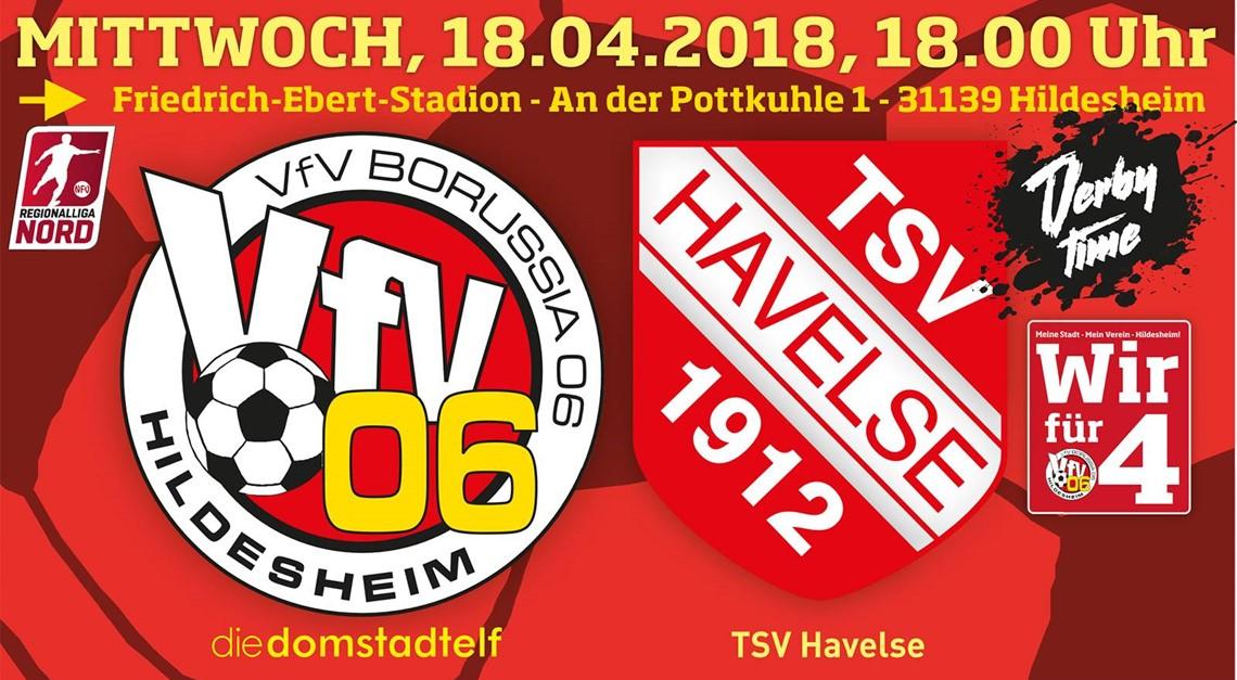 VfV 06 ist heiß: Derby-Hit gegen Havelse !!!