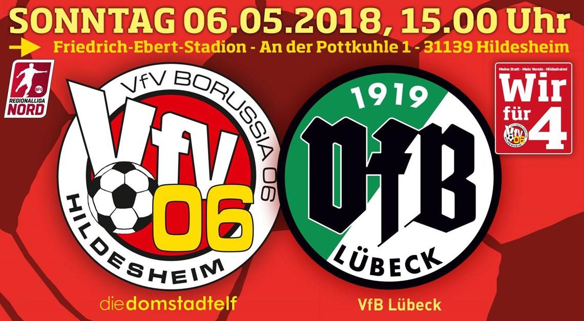 Lübeck kommt: Wir wollen 4 Siege aus 4 Spielen !!!