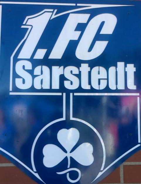 Glückwunsch 1. FC Sarstedt:  Gastgeber siegt 3:0 !