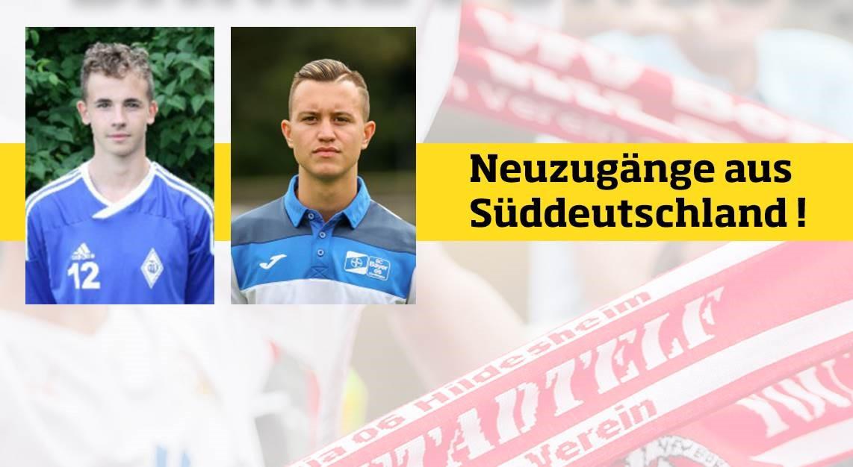 Sascha Hingerl und Emir Hadzic verstärken VfV 06!