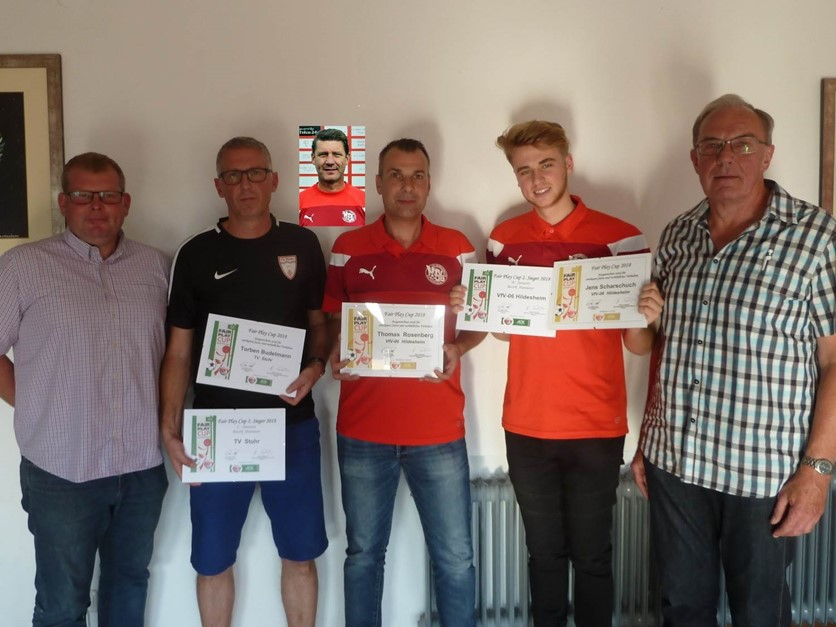Fair-Play-Cup 2017/2018 Vereins- und Trainerehrung