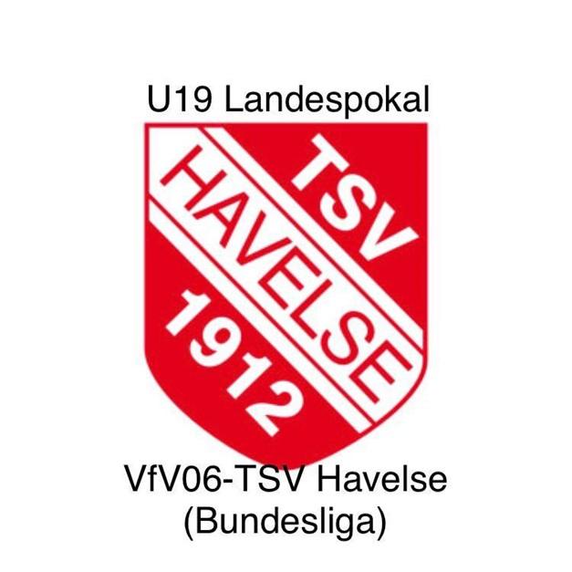 Mittwoch Pokalhit: U 19 gegen Havelse im FES !!!