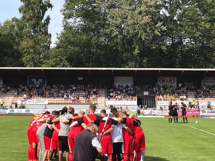 Dämpfer in Delmenhorst: 1:3 !!!