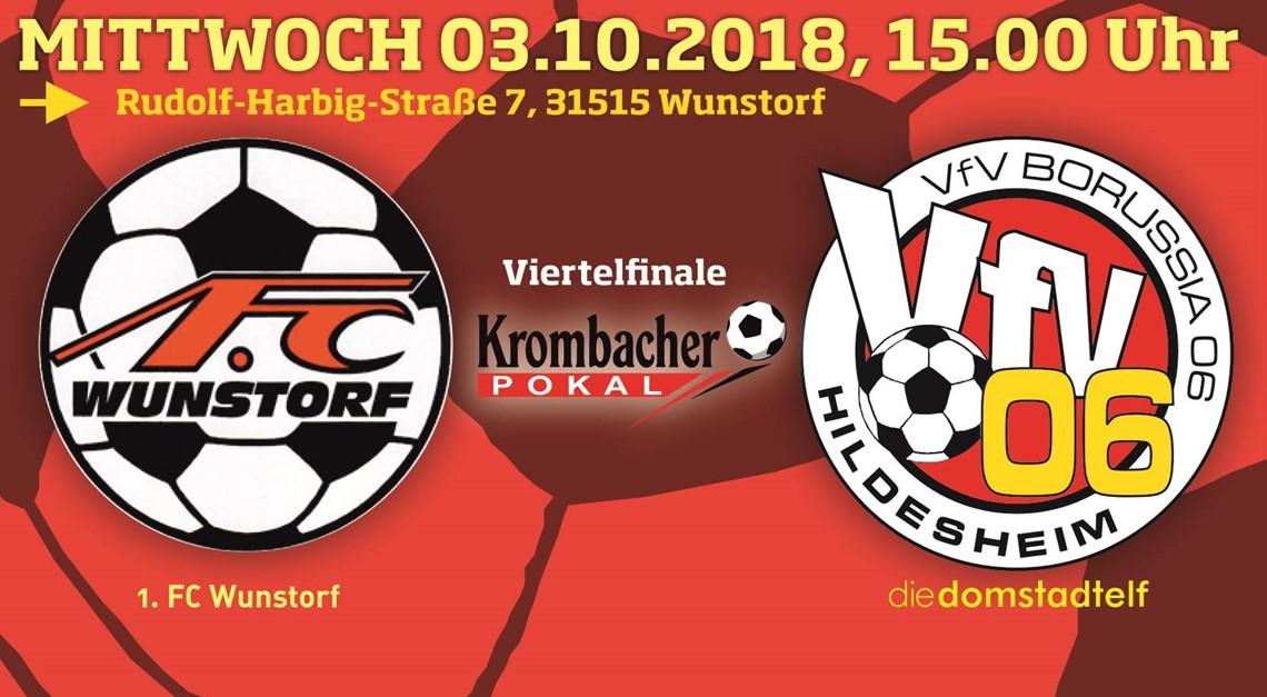 Viertelfinale: In Wunstorf wartet ein Pokalkracher