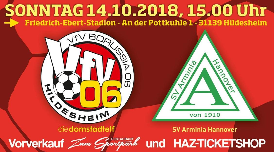 VfV 06 erwartet heißes Derby gegen Arminia !