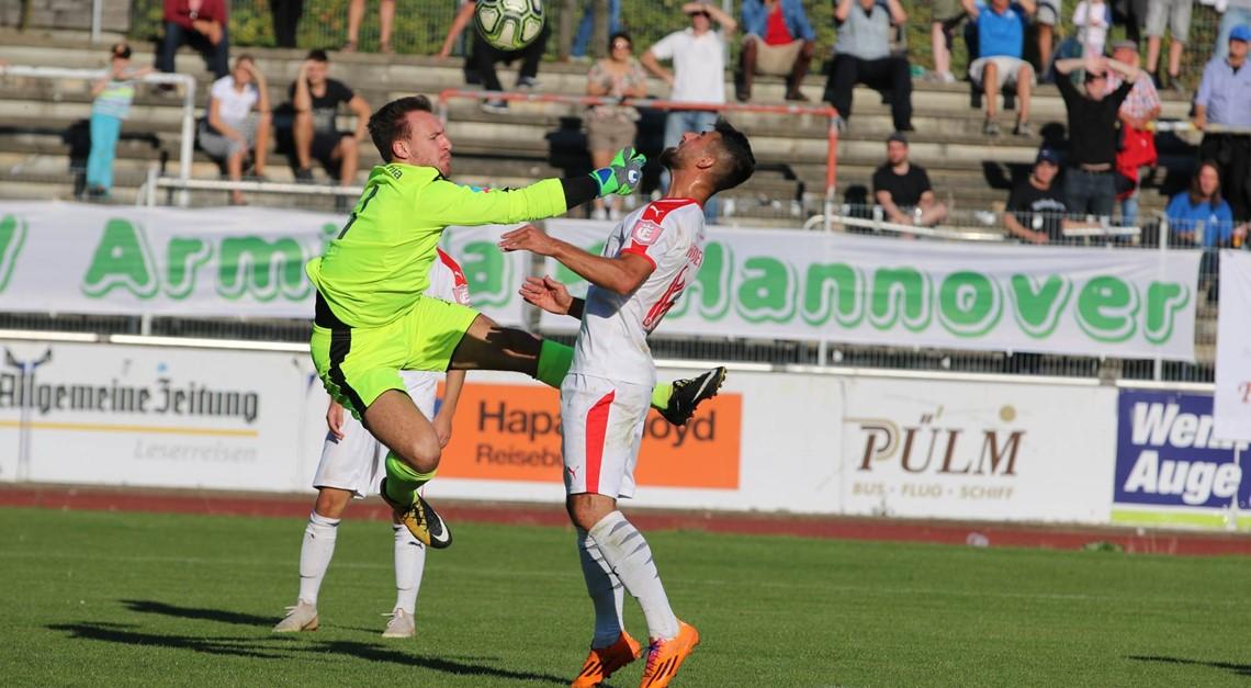 940 Zuschauer: 1:1 im Derby gegen Arminia !!!