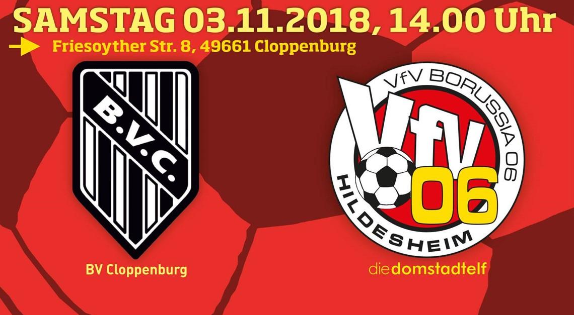 Samstag in Cloppenburg: Jetzt will der VfV 06 mehr