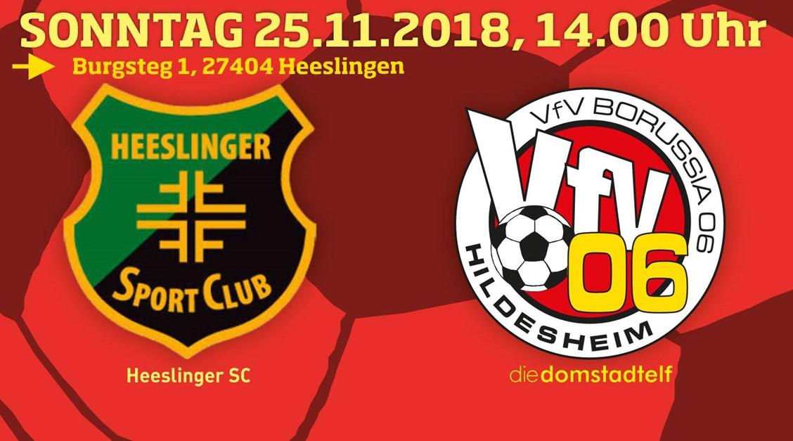 VfV 06 in Heeslingen: Letztes Auswärtsspiel 2018 !