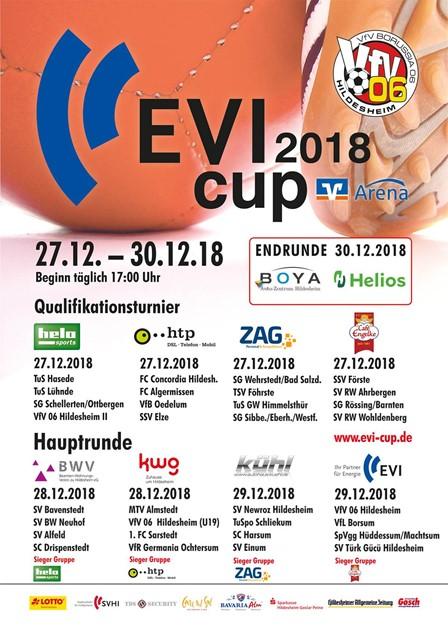 EVI-Cup 2018: Fußball-Event der Extraklasse !!!