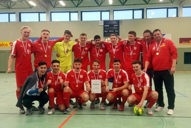Titel verteidigt! Niedersachsenmeister im Futsal