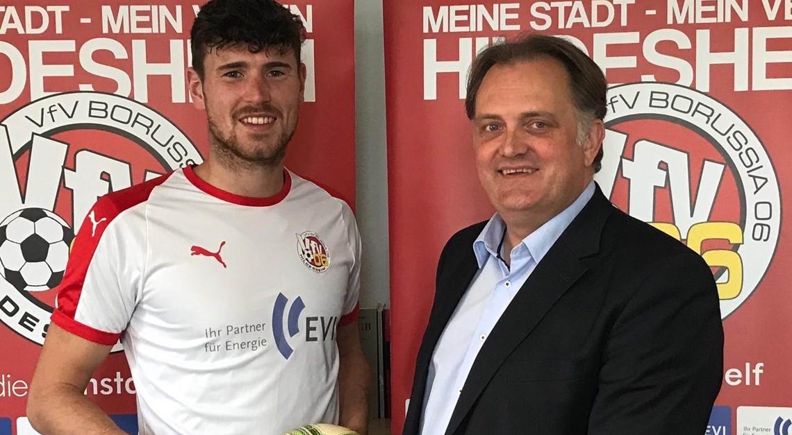 Klasse-Transfer: Stürmer Leon Heesmann kommt !