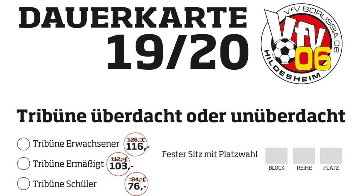 Es geht los: Frühbucher-Rabatt für Dauerkarten!