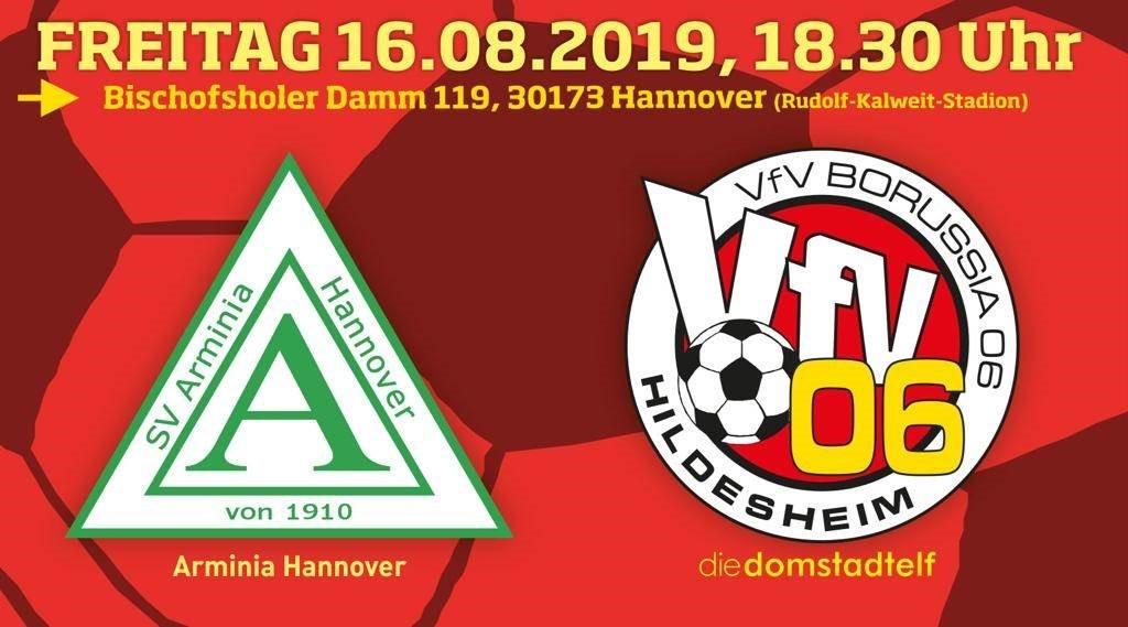 Top-Duell bei Arminia: VfV 06 zu 100 % bereit!!