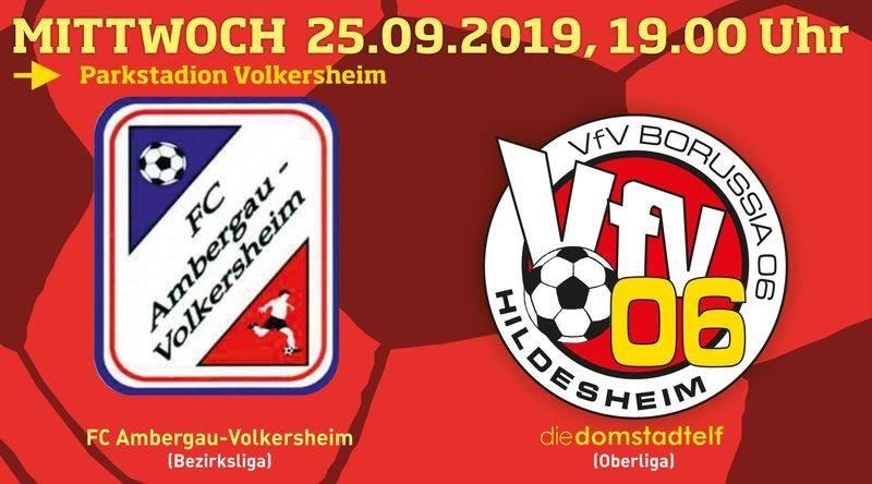 VfV 06 testet am 25.9. beim FC Ambergau!