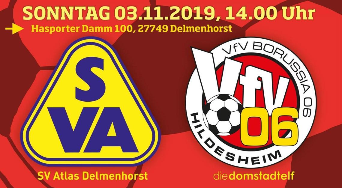 Das ist der Gipfel: VfV 06 bei Atlas Delmenhorst!