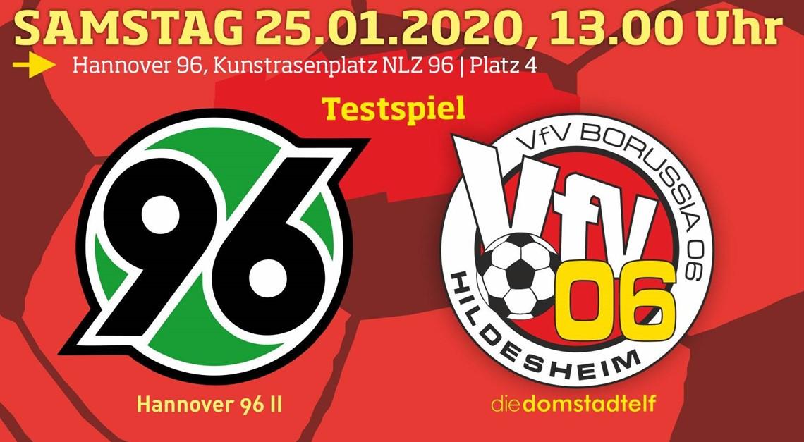 Harter Test gegen die Bundesligareserve von H 96!