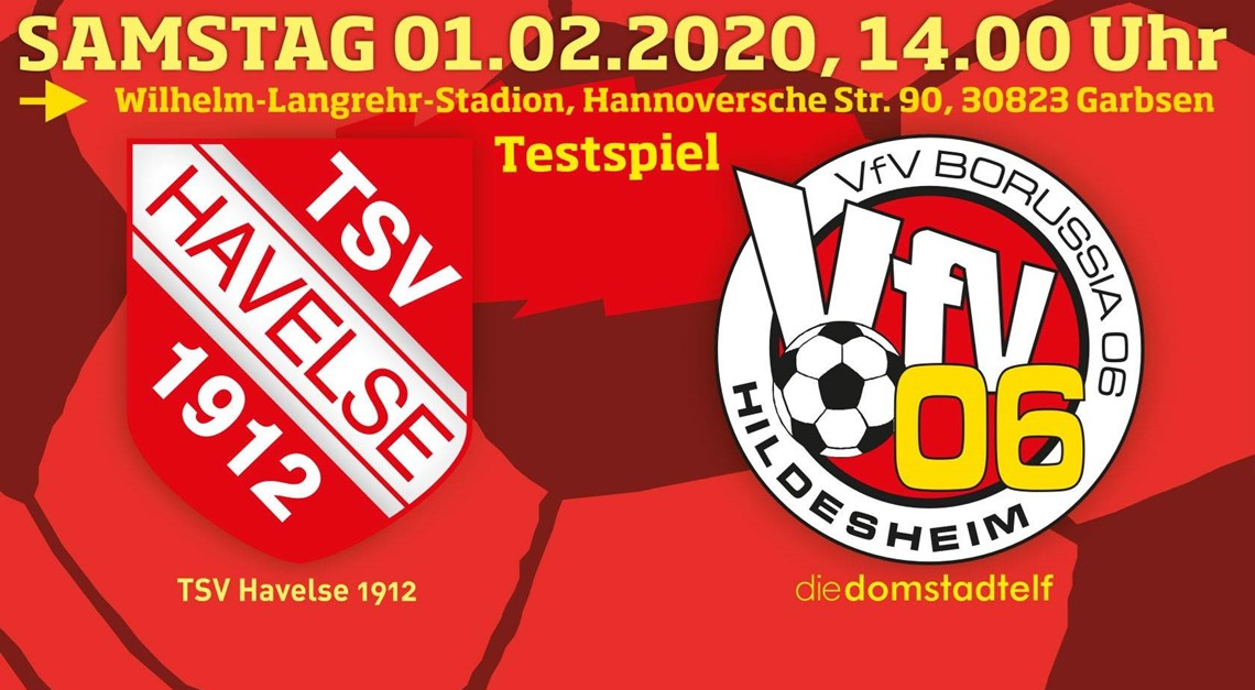 Attraktiver Härtetest beim TSV Havelse!