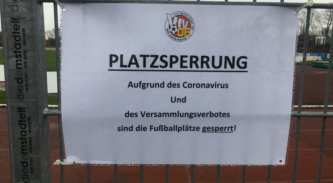CORONA-Krise: VfV 06 appelliert an Solidarität!