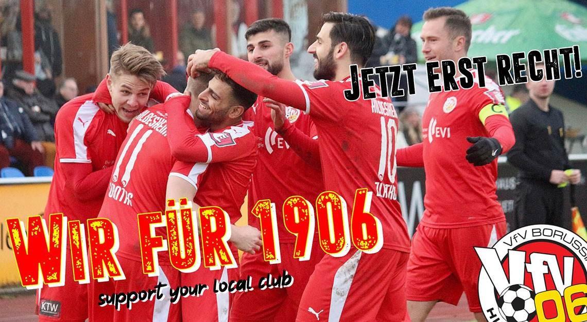 WIR FÜR 1906! - JETZT ERST RECHT!