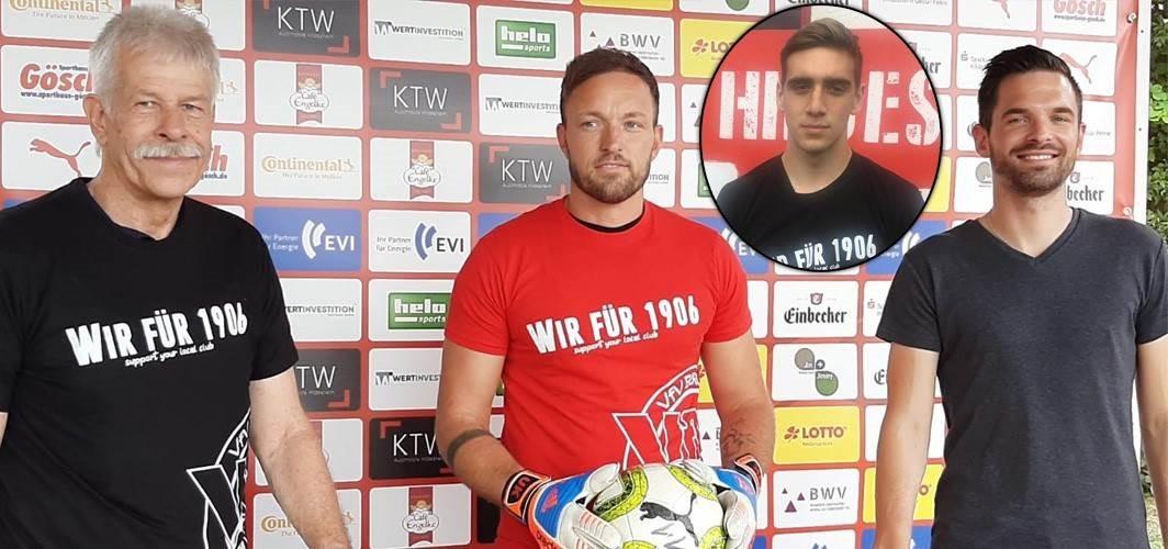 Fußballverrückt: Sven Kiontke die Nr. 2 im Tor!