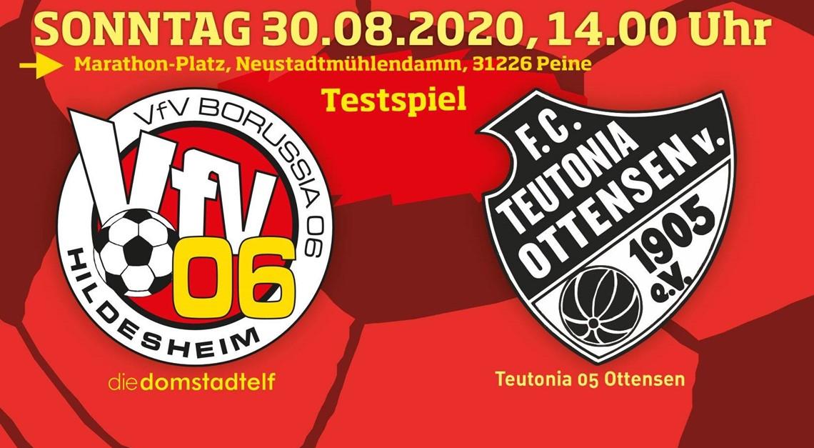 Teutonia 05 Ottensen: Letzter Test vor Ernstfall!