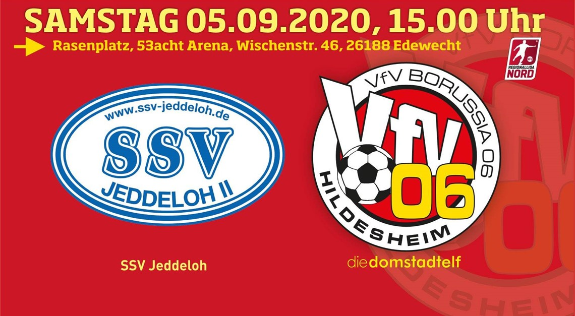 Alles ist angerichtet: VfV 06-Start in Jeddeloh!
