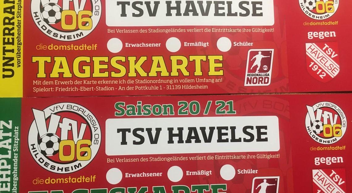 350 Tickets für Derby gegen Spitzenreiter Havelse!
