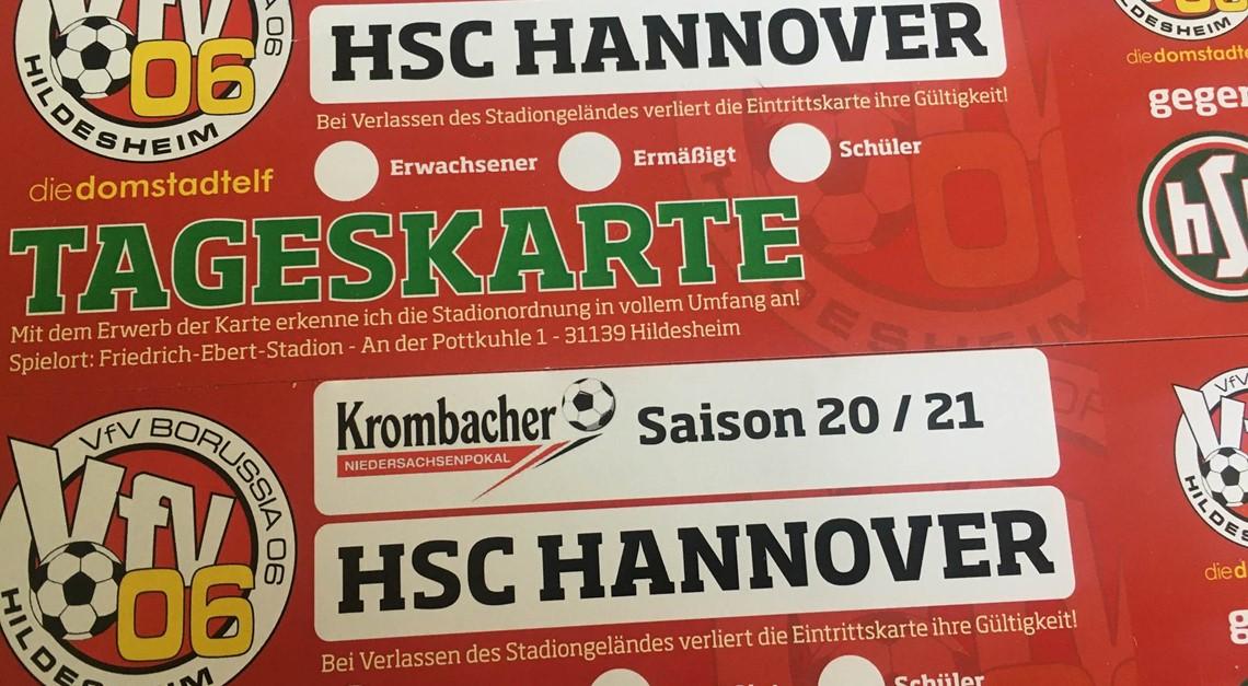 Pokalfight gegen HSC: Es gibt noch Tickets!