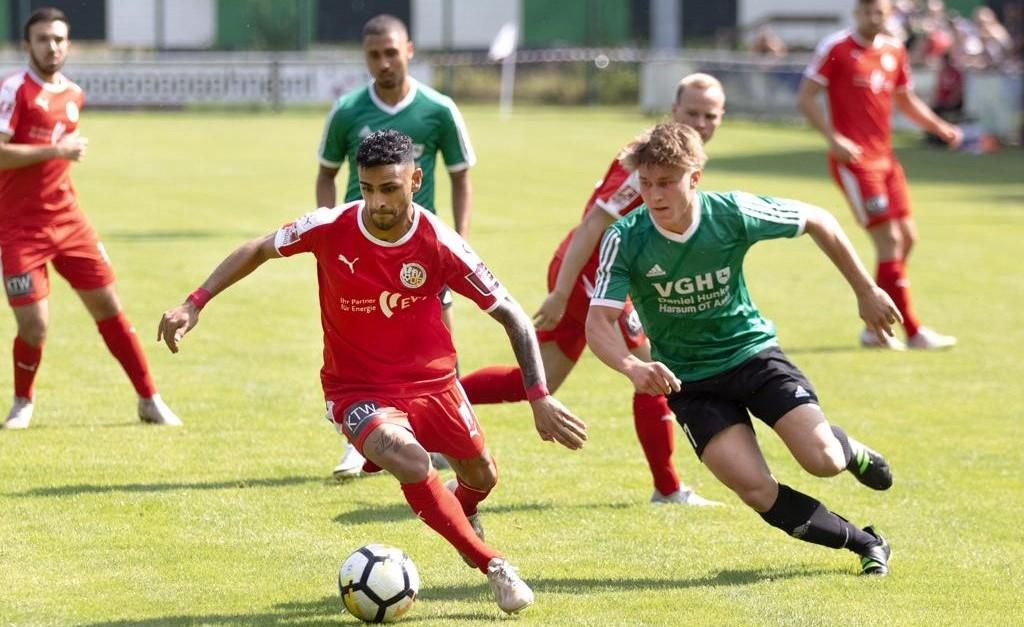 4:0: Lockerer Testspielauftakt in Harsum!