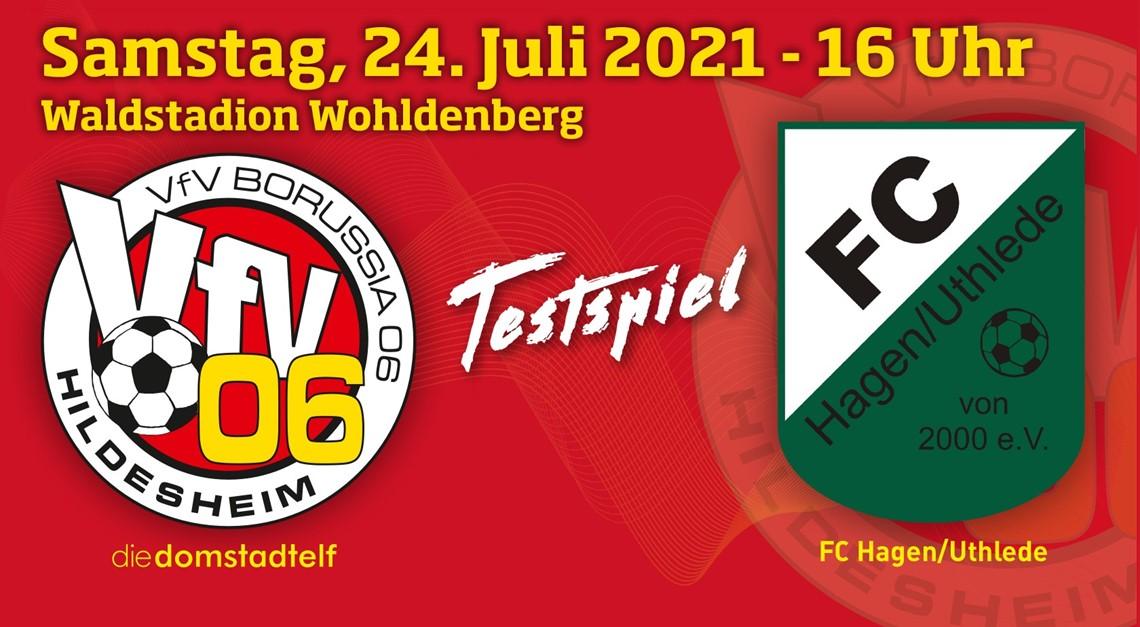 Test am Wohldenberg: VfV 06 gegen Hagen/Uthlede!
