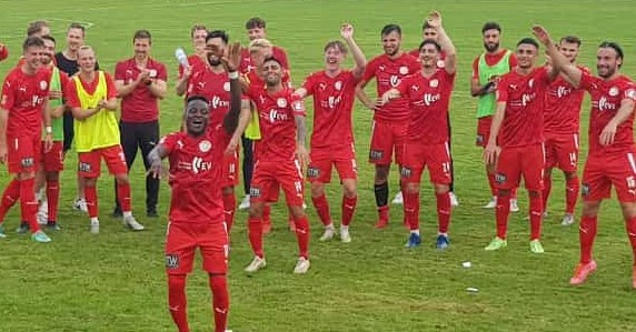"2: 1 bei LSK: ""Man of the match:"" Abdulmalik Abdul"
