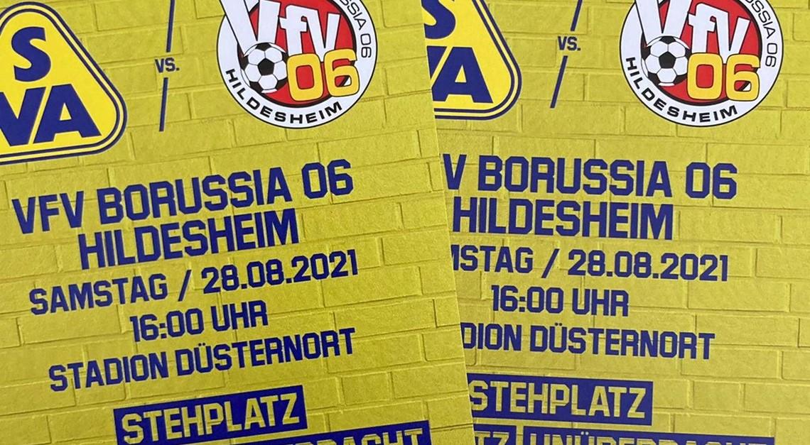 100 Tickets: Vorverkauf ab Mittwoch am Stadion!