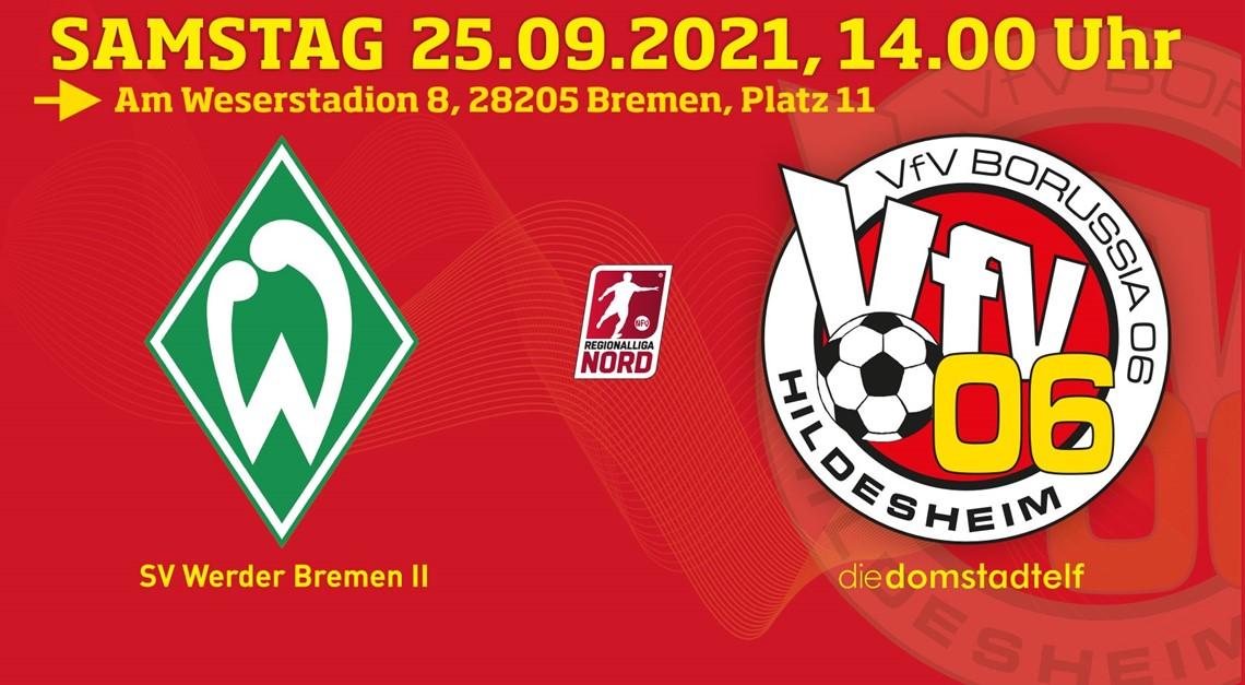Selbstbewusst zum Mitfavoriten: VfV 06 bei Werder!