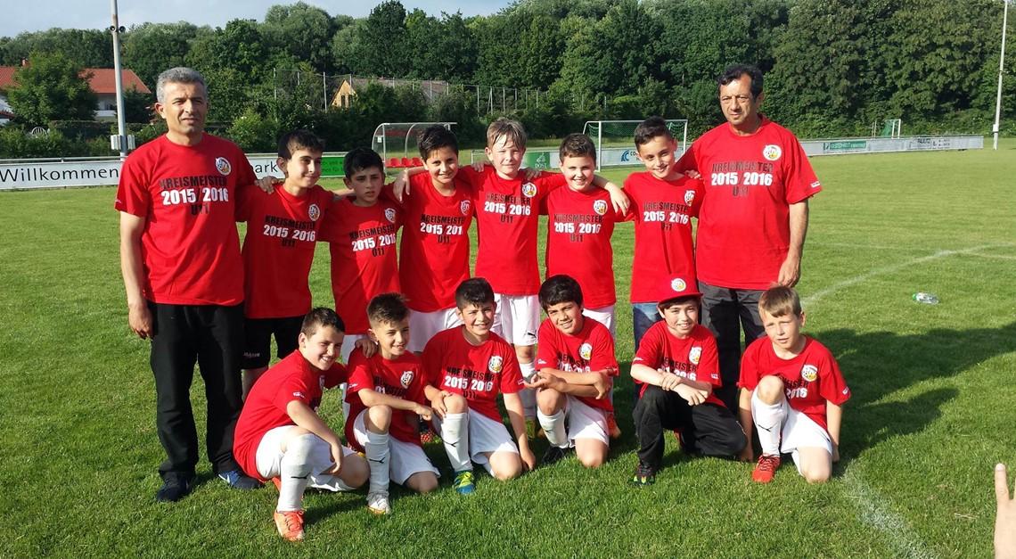 U11-Junioren werden Staffelsieger