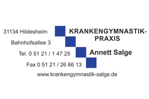 Sponsor - Krankengymnastik Salge