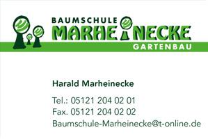 Sponsor - Gartenbau Marheincke