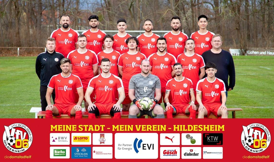 Mannschaftsfoto VfV 06 Hildesheim 2