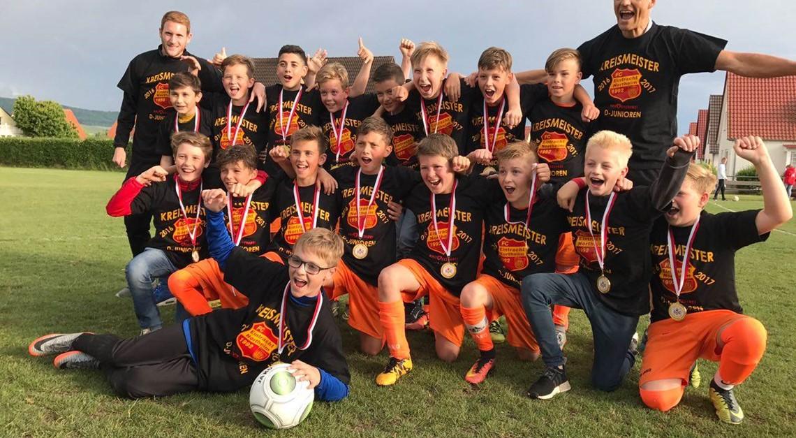 Eintracht U12 ist Kreismeister