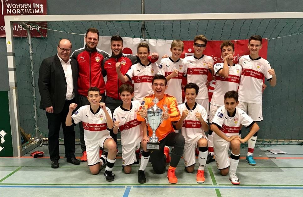 VfB Stuttgart gewinnt U14 KSN+VGH JuniorCup
