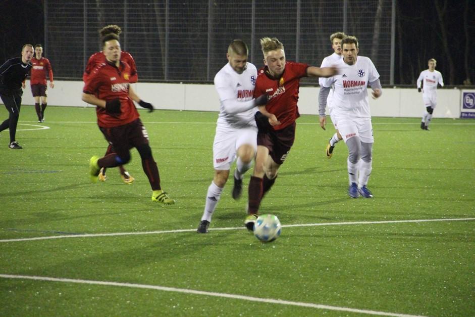 Testspielsieg gegen SC Hainberg