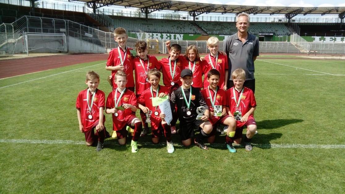U11 wird Dritter beim VfL Wolfsburg Junior Cup