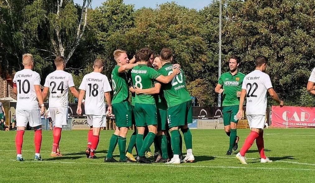 Deutlicher Sieg beim 1.FC Wunstorf