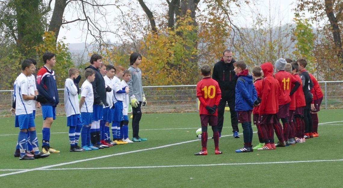 Testspiel der U12 in Goslar