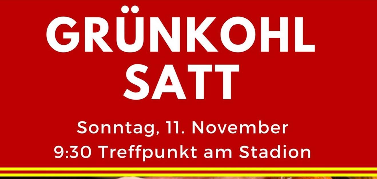 Traditionelle Grünkohlwanderung am 11.11.