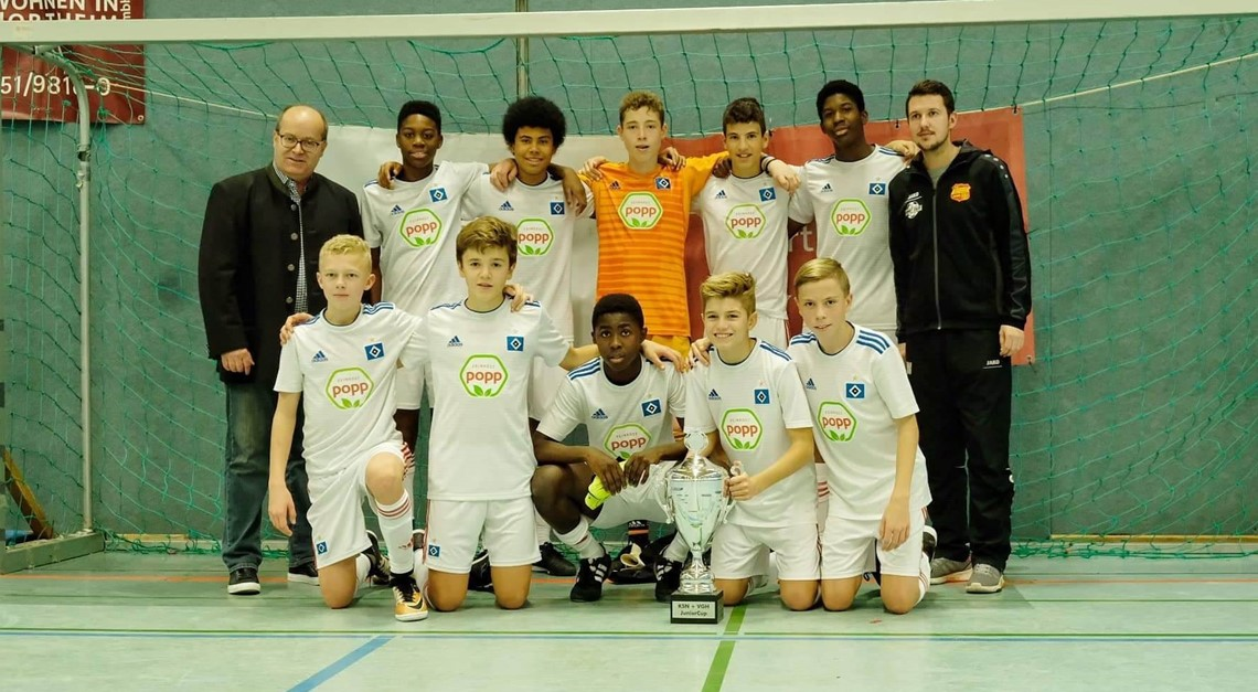 Hamburger SV gewinnt den 12. KSN+VGH Junior Cup