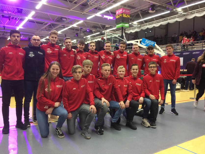 Eintracht Jungs meets Basketball