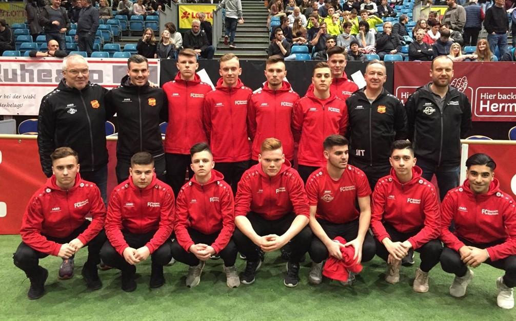 U19 beim Sparkasse&VGH CUP in der Lokhalle